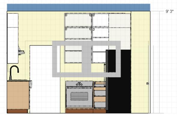 kitchenwestelevation